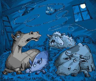 Farm animals illustration   Animal style gallery