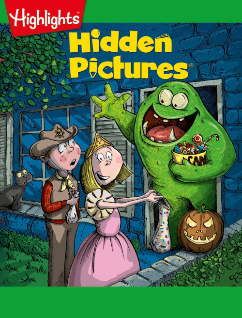 Monster and kids illustration by Sholto Walker