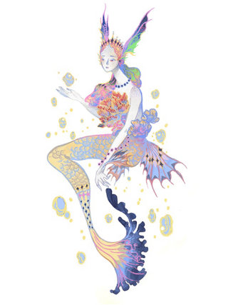 Fantasy Queen illustration