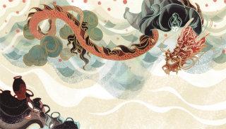 Abstract illustration by Sija Hong