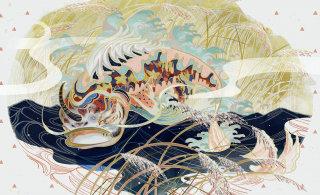 Chinese style illustration of animal