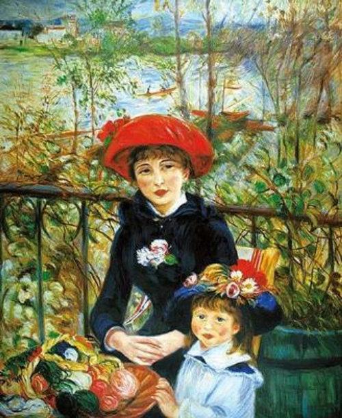 Renoir Kopie fashion illustration