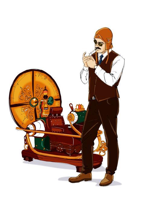 Homme Fumant Une Cigarette Clipart vectoriel