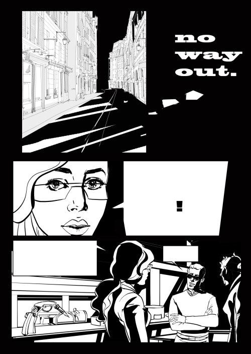 Illustration graphique de No way out