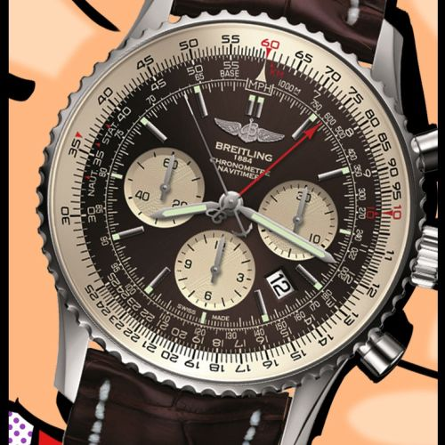 Pop Illustration Breitling watch
