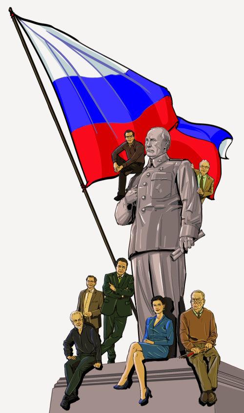 Illustration des poltics russes