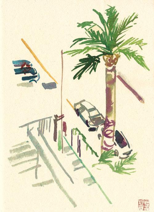 Illustration de la rue lâche
