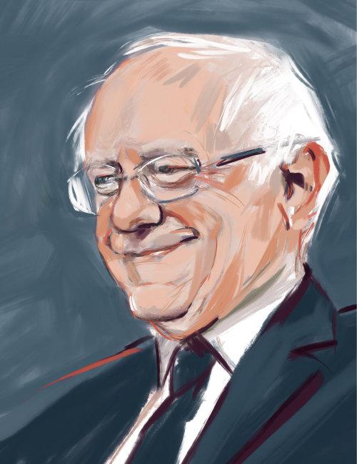 illustration couleur de leau dun vieil homme