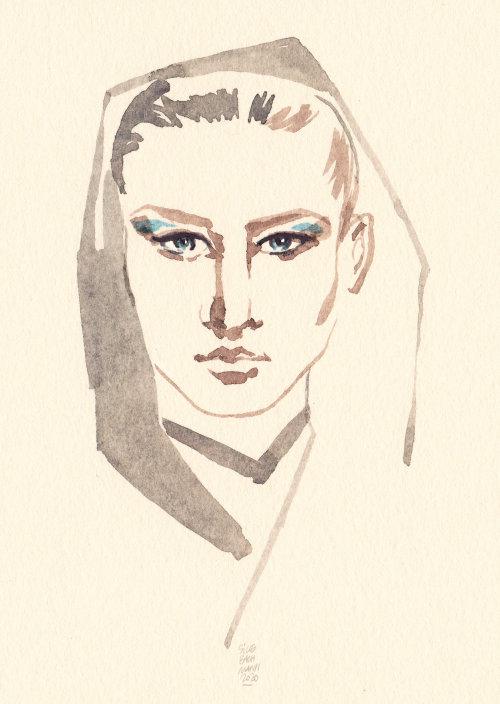 Illustration de la beauté de la femme