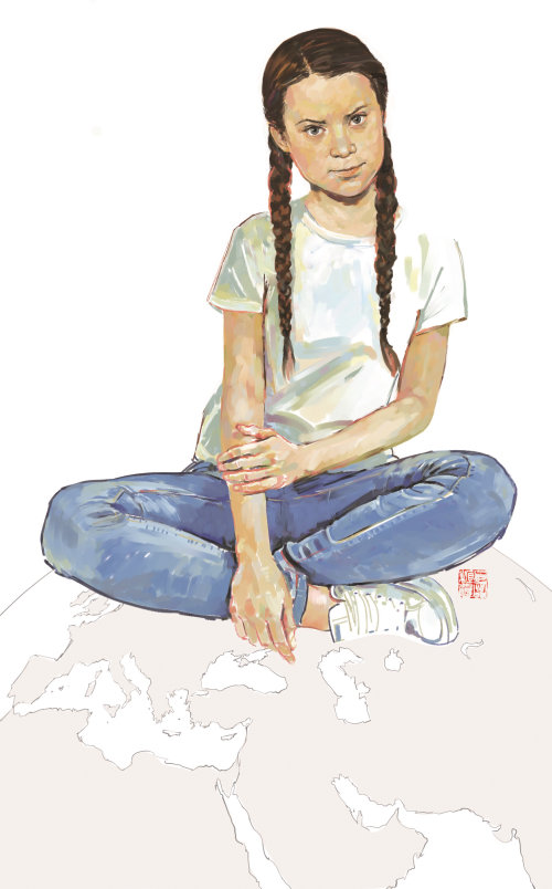 Illustration de mode d'adolescente