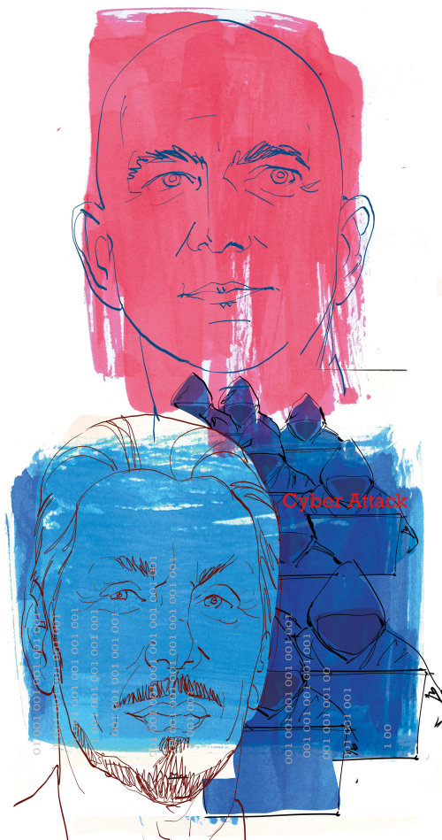 Illustration de couleur de l'eau de gens formidables