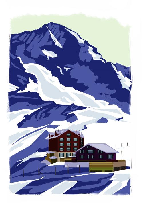 Art of Building in hills
