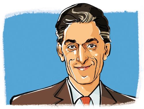 Portrait de l'homme d'affaires