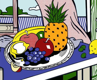 Fruits illustration by Silke Bachmann