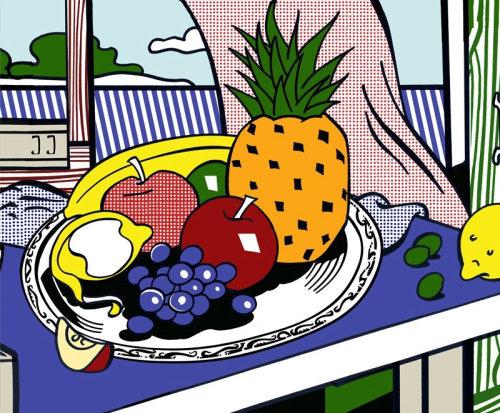 Illustration de fruits par Silke Bachmann