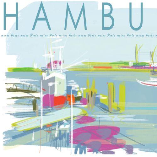 Silke Bachmann Pastiche internacional e ilustrador de línea. Hamburgo
