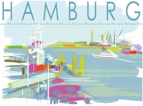Conception d'architecture de Hambourg