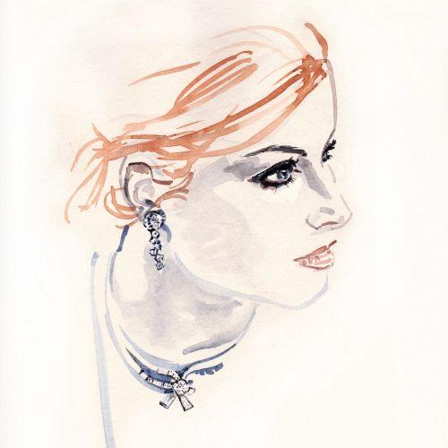 Silke Bachmann International pastiche & line illustrator. Hamburg