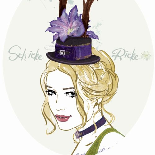 Silke Bachmann International pastiche & line illustrator. Hamburg