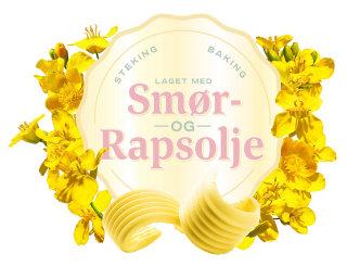 Smør Rapsolje Logo Design