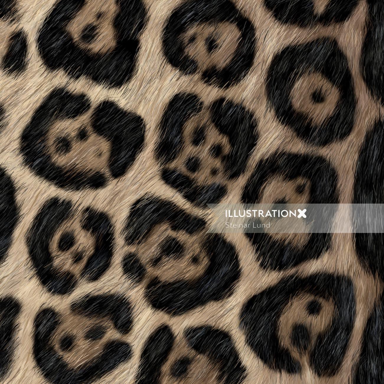 Animals Up close detail of Jaguar fur.