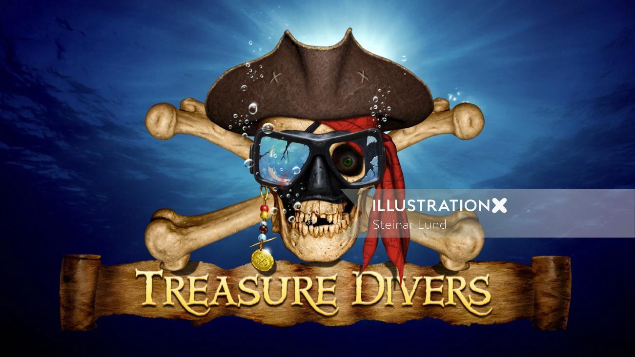 Pirate Skull and Cross Bone