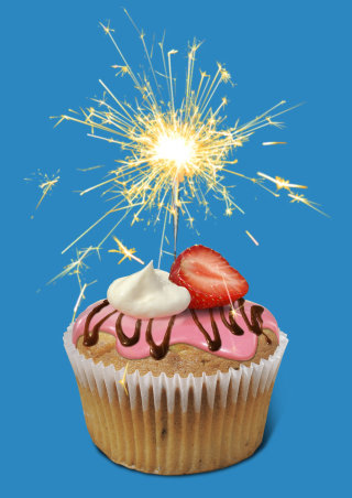 Sparkling Cup Cake