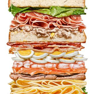 Mega Sandwich illustration