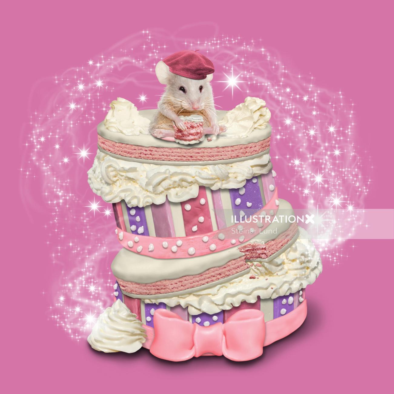 Cover Illustration for Children's Book