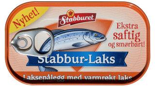 Tinned Fish Salmon illustration for stabburet