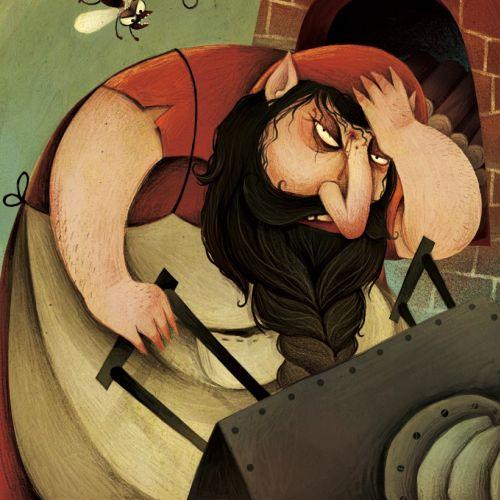 fantasy illustration of dwarf