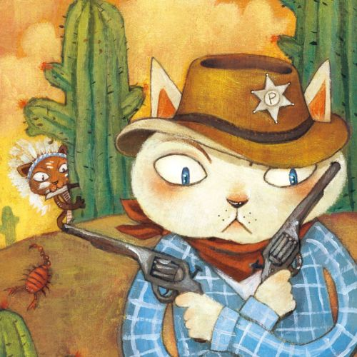 cowboy for children book