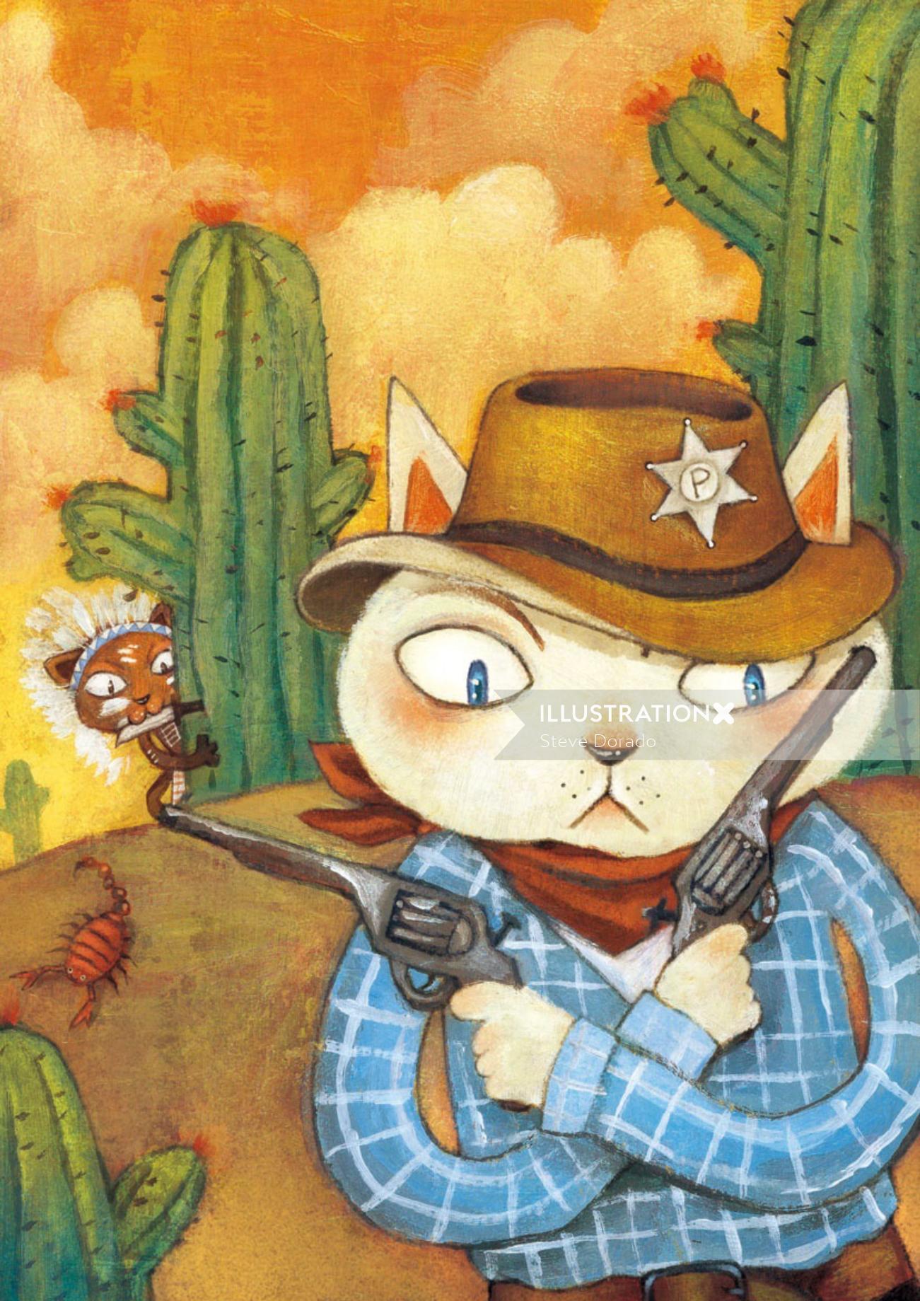 cowboy for children book