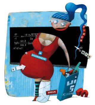 mathematics, teacher, school, numbers, woman