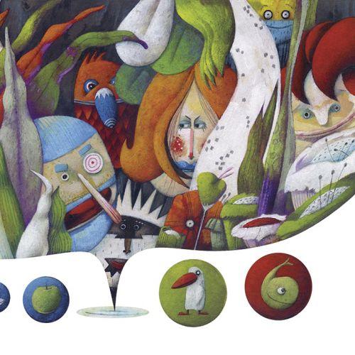 Steven Van Hasten Diseño de personajes