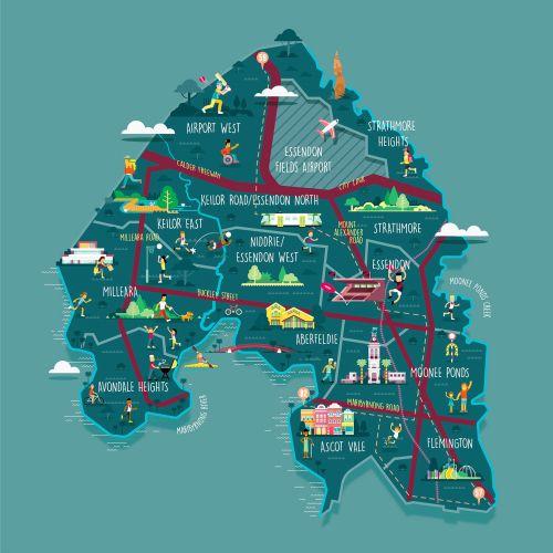Stuart Holmes Mapas