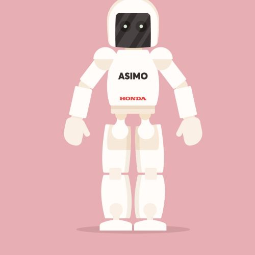 gif animation of robot