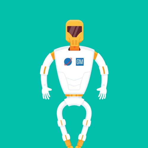 robot animate GIF created by Stuart Holmes
