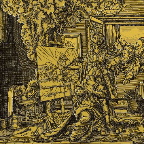 Historical illustration of the Rape of Artemesia