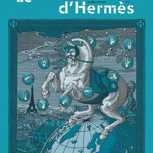 Hermes Magazine Cover illustration