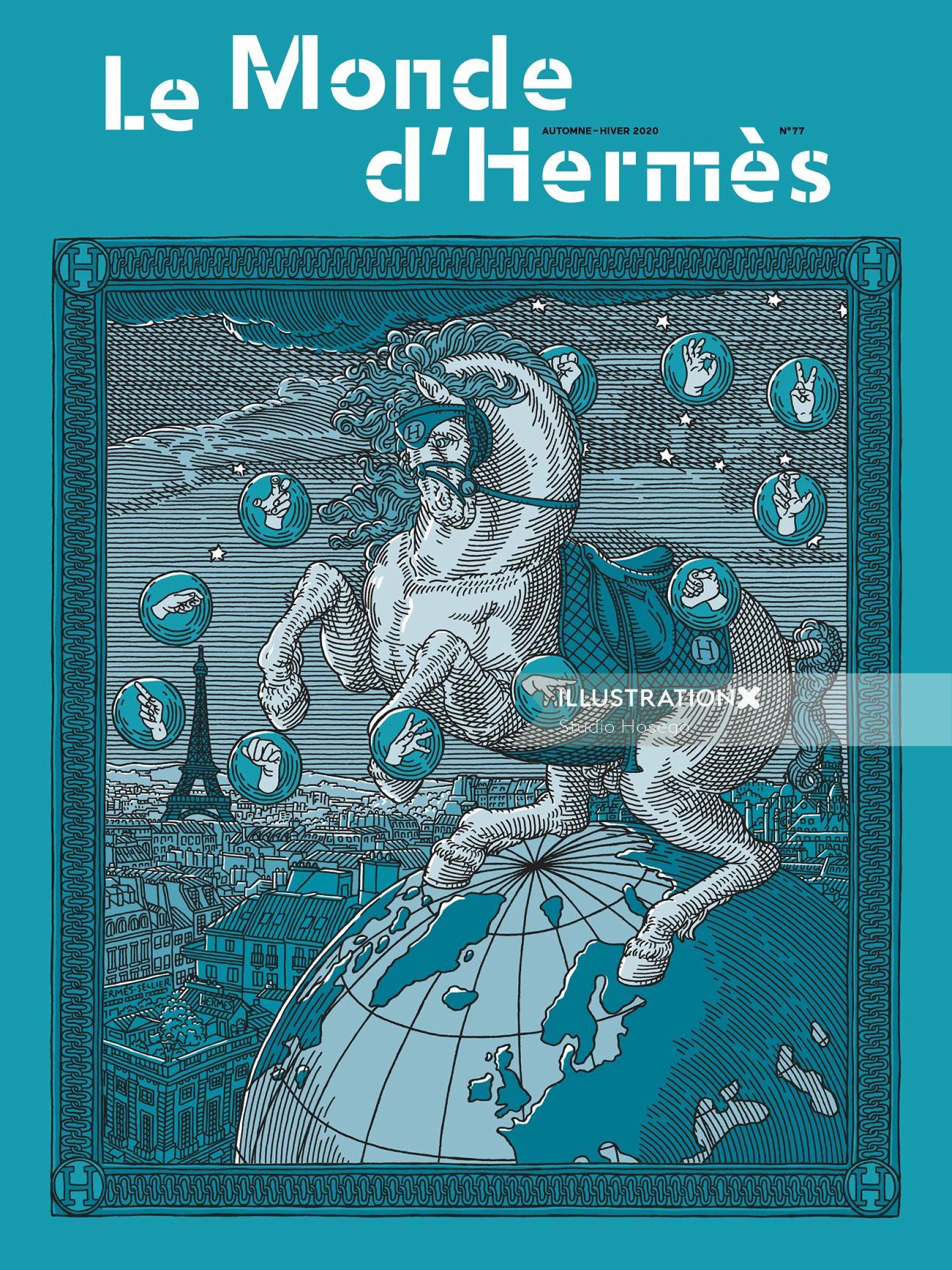 Hermes Magazine Cover
