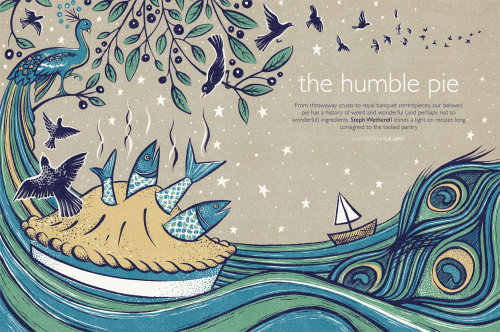 The humble pie artwork for book