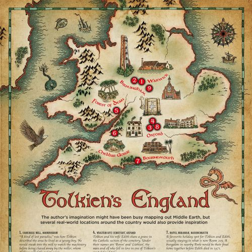 Tolkiens England artwork