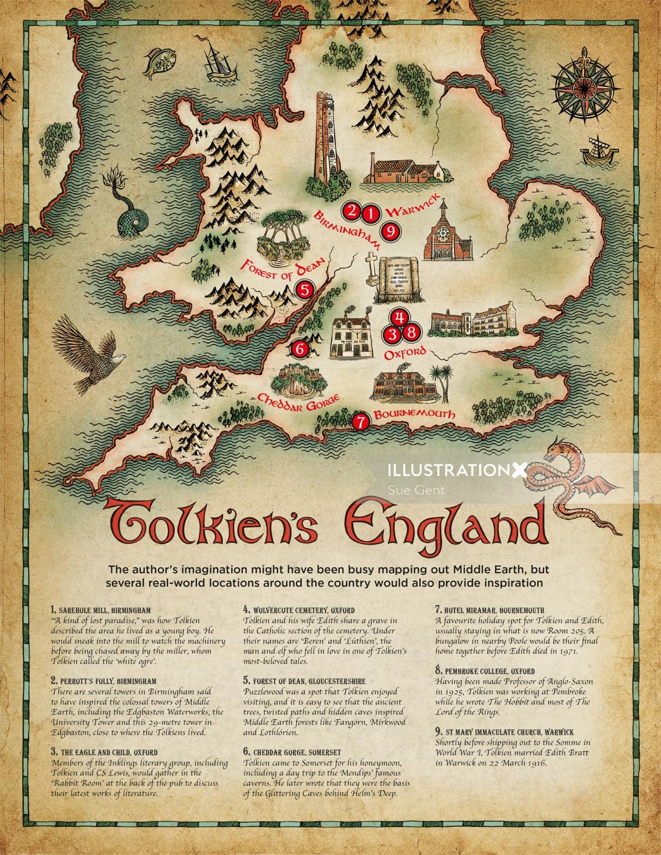Tolkiens England artwork