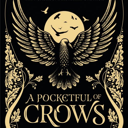 A Pocketful of crows book cover design