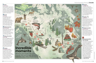 Incredible moments geographical magazine cover