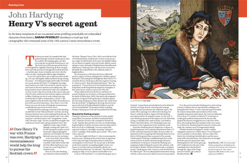 Editorial Henry vs secret agent