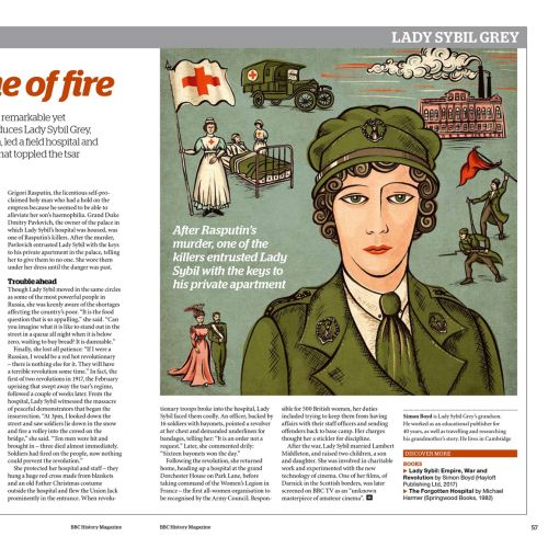 Editorial a lady in the line of fire