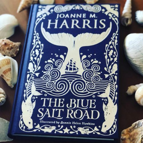 Book cover design of The blue salt road