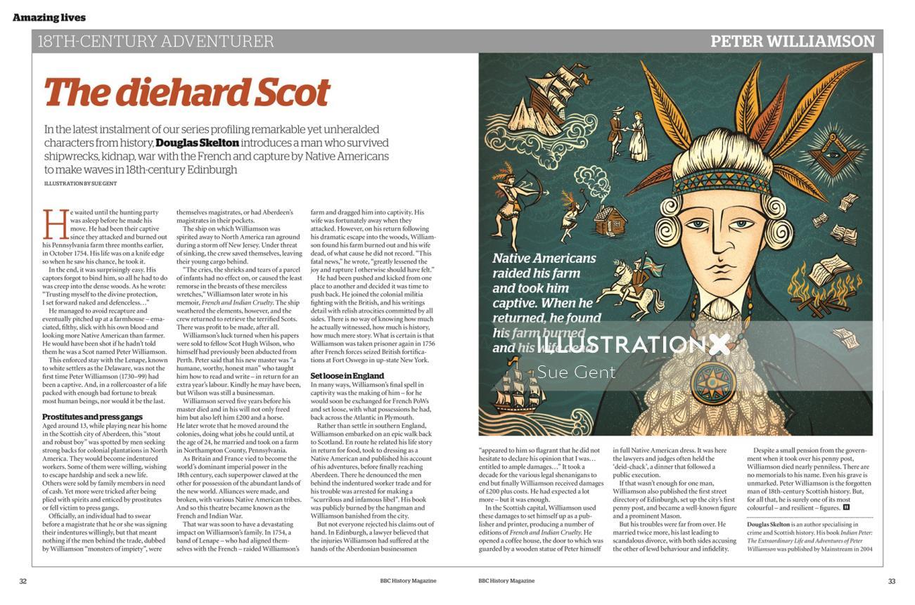 Editorial the die hard scot